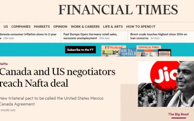 Financial Times saapuu KSYK:iin!