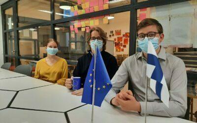 Eurooppa-päivä ja Eurooppa-studiossa MEP Miapetra Kumpula-Natri